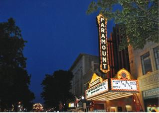 Paramount Theater Bristol Sign Night