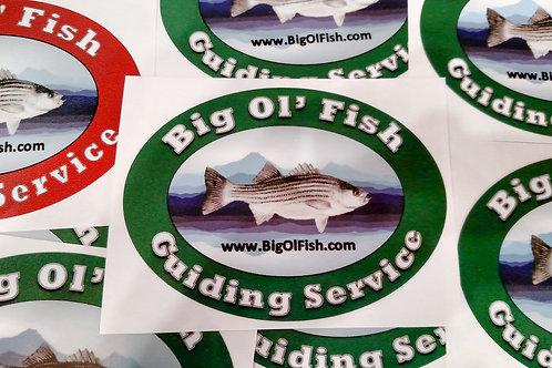 Big 'Ol Fish Sticker