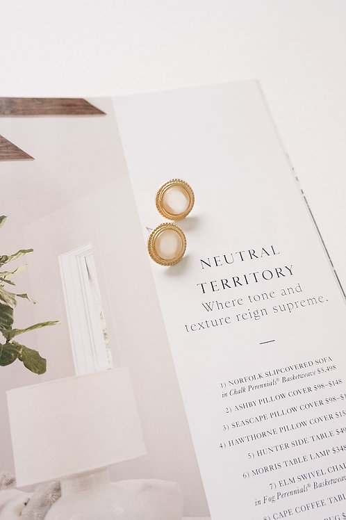 Rounded Stone Studs