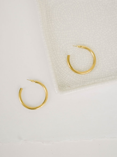The Dupe Hoops 42mm   hypoallergenic