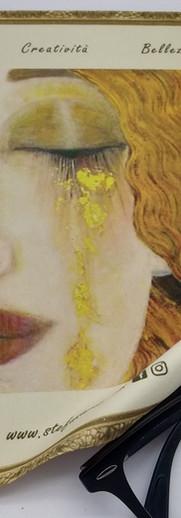 """""""Le lacrime di Freyja""""Stampa sublimatica personalizzabile su microfibra."""