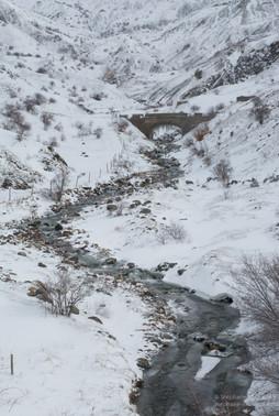Torrent d'hiver en val de Tena
