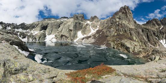 Lac de Capitello en banquise (1)