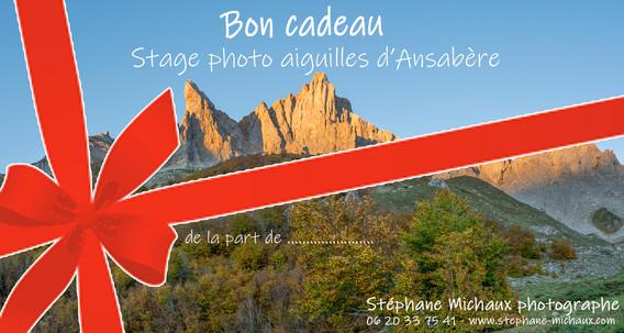 Carte Cadeau Stage photo aiguilles d'Ansabère