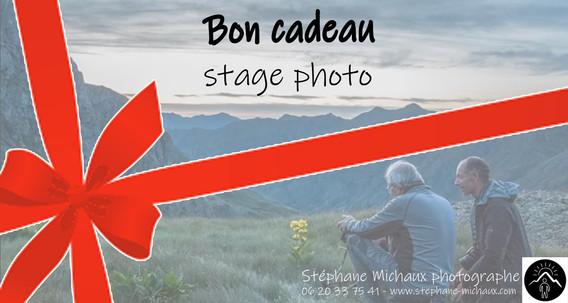 Carte Cadeau Stage photo Pyrénées