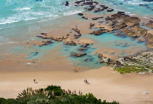 Bidart et ses piscines d'eau de mer couleur jade (1)