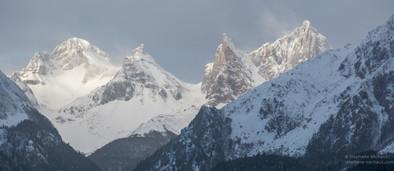 Panorama des aiguilles d'Ansabère