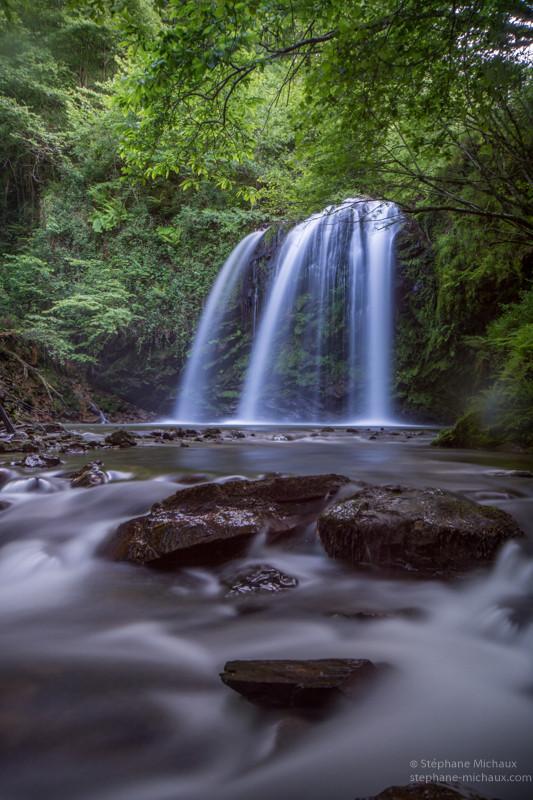 Cascade au Pays Basque