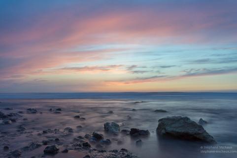 Rochers au coucher de soleil (1)