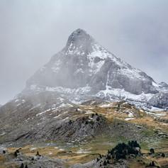 Le pic d'Orhy pyramidal