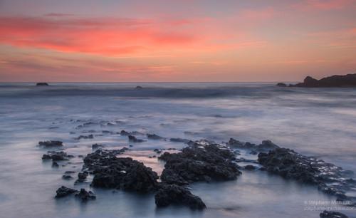 Rochers au coucher de soleil (2)