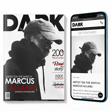 MAGAZINE COVER + 2 ARTICLES