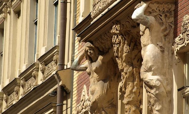 riga - vecriga - art nouveau - smilsu ie
