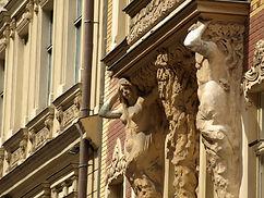 riga - vecriga - art nouveau - smilsu iela - peksens