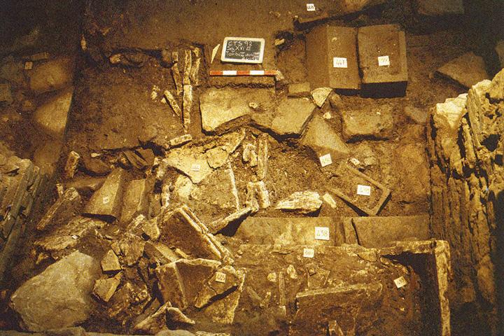 cantiere archeologico, località Sodo