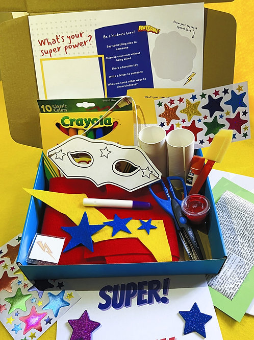 Monthly Art Box (ages 3-8)