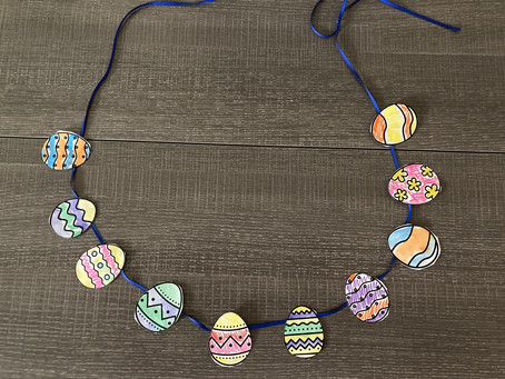 Simple DIY Easter art project for kids