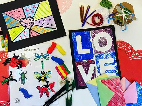Love & Bugs Art box
