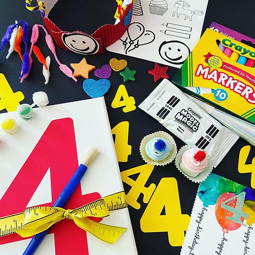 Customized Birthday Box (ages 3-9)