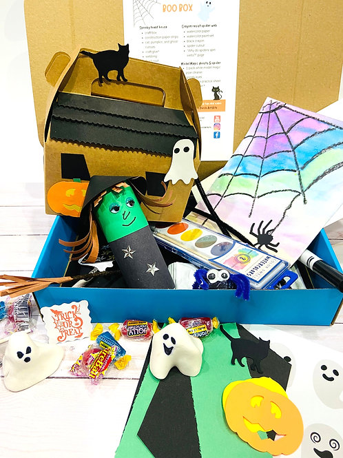 Monthly Art Box (ages 3-9)