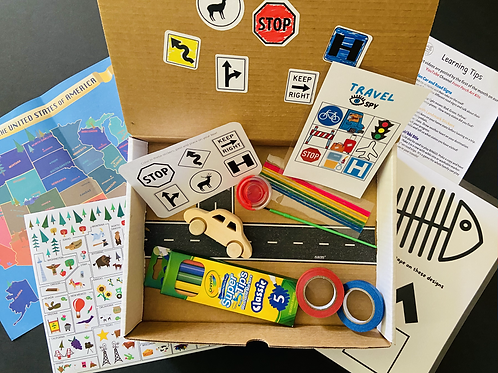 Summer Fun Pack ( one-time purchase or 3 month subscription available (ages 3-8)