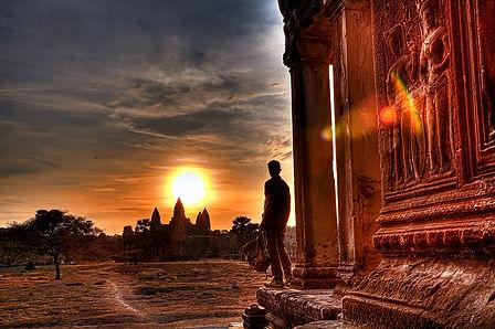 Edward Scott Brady in Cambodia