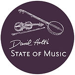 David Holt's State of Music circle logo
