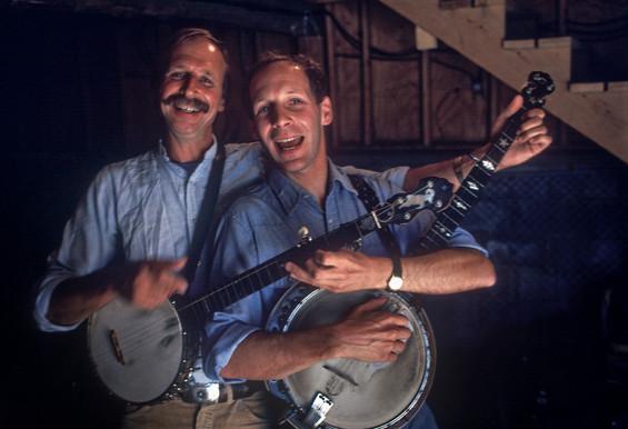 Mac Benford and Paul Brown at Rockbridge