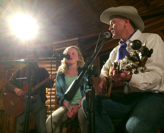 Christine and Justin Howe, A Bar A Ranch