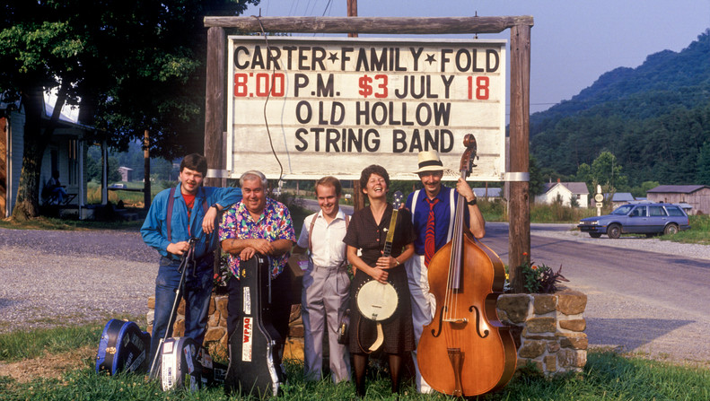 Old Hollow String Band at the Carter Fold