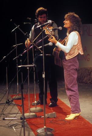 Andy Kahn and Alice Gerrard, 1986