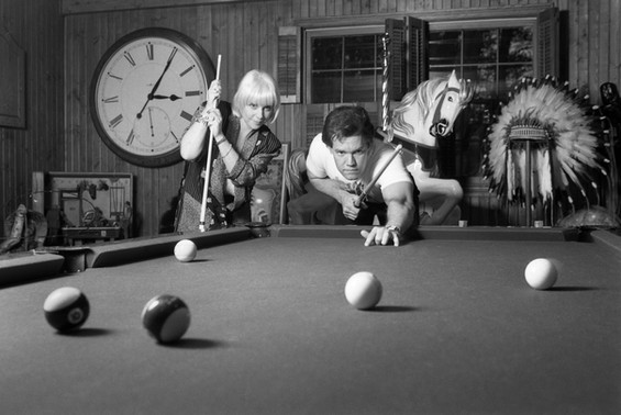 Lib Hatcher and Randy Travis, 1991