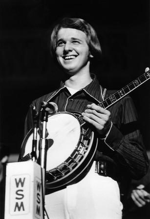 Marc Pruett at the Grand Ole Opry 1975