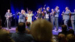 David Holt Onstage finale image