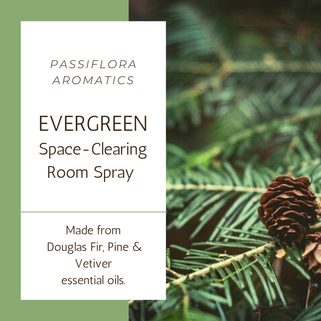 Evergreen Space Clearing Room Spray