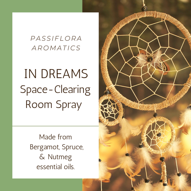In Dreams Space Clearing Room Spray