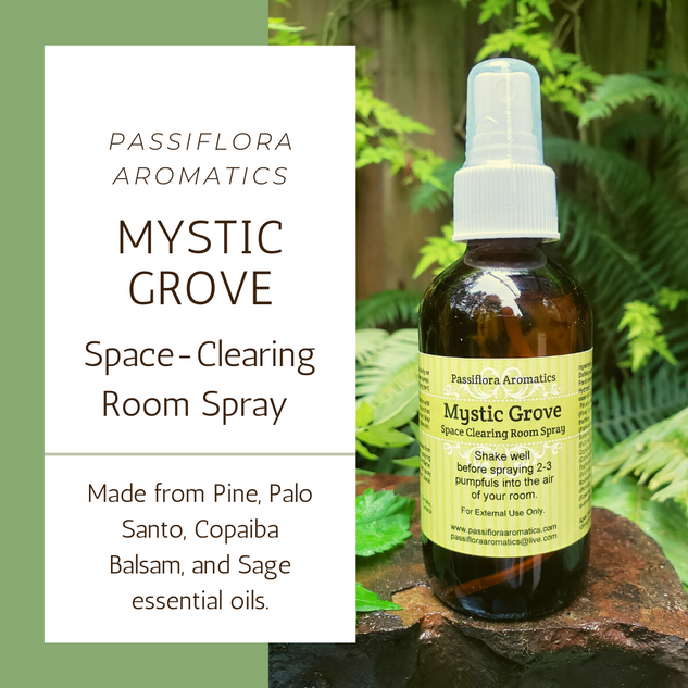 Mystic Grove Space Clearing Room Spray