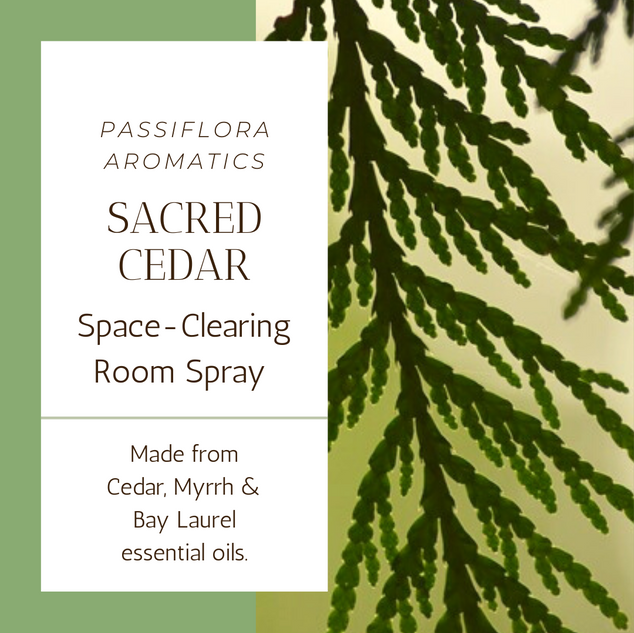 Sacred Cedar Space Clearing Room Spray
