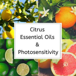 Citrus Essential Oils & Photosensitivity
