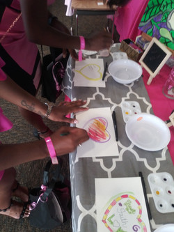 In and Out Painting Activity