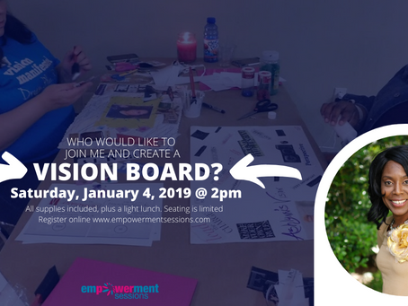 Vision Board Workshop in Baton Rouge Jan 4.