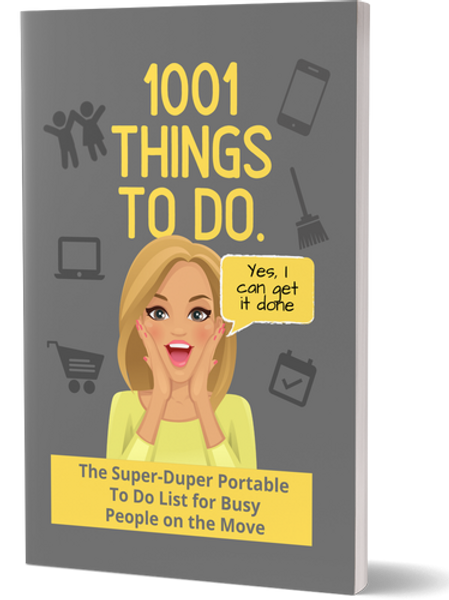 1001 Things to Do Portable To-Do List (MCH Edition)