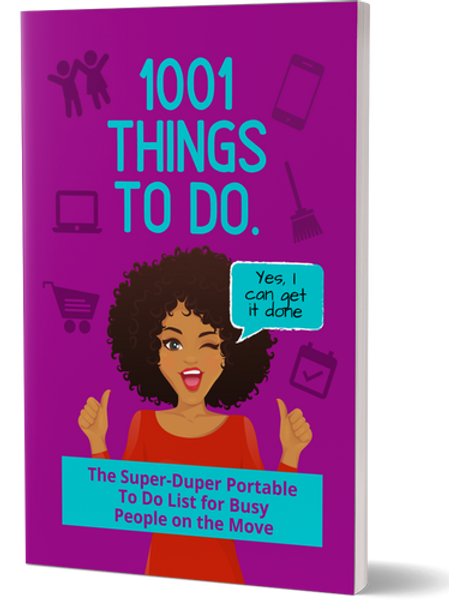 1001 Things to Do Portable To-Do List (YL Edition)
