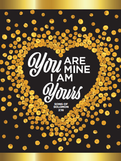 You Are Mine, I Am Yours (Greeting Card)