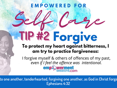 Self Care Tip: Forgive