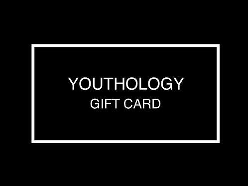 YOUTHOLOGY GIFT CARD