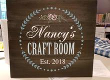 Craft Room Sign