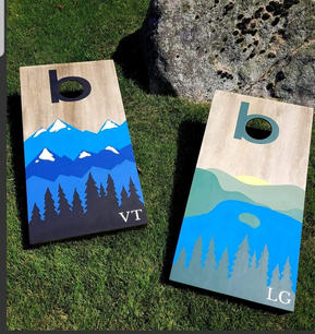 Custom Cornhole Sets