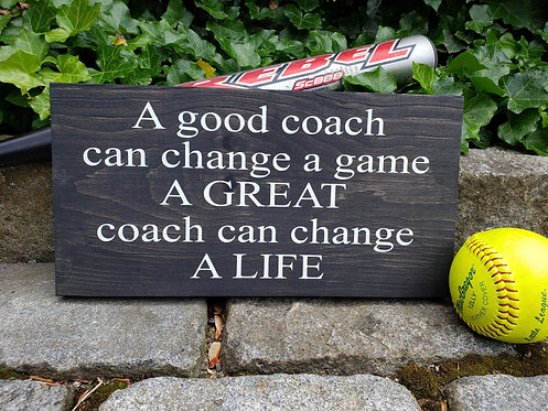 A Coach Can Change A Life