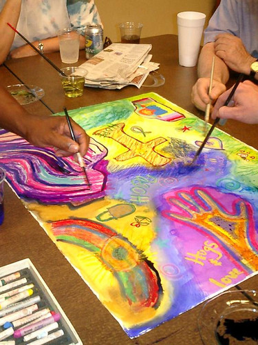 Art therapy sessions in Cornwall